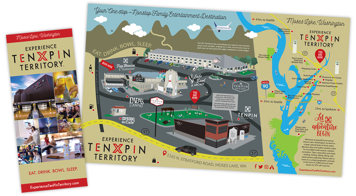Ten Pin Territory Adventure Map