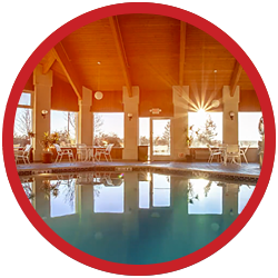 Pool at Ten Pin Inn & Suites