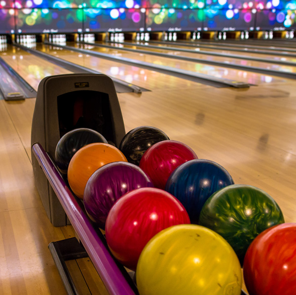 Bowling at Ten Pin Territory's Lake Bowl & Arcade